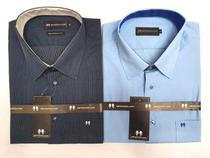 Camisa social slim manga curta tamanho 5 kit 2 peças - Anggelus Camisaria