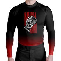 Camisa Térmica Segunda Pele Muay Thai Atlética - Atlética Esportes