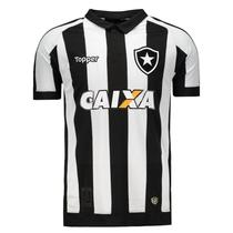a9f10bc8d0fa9 Camisa Topper Botafogo I 2017 Patrocínio 4200982