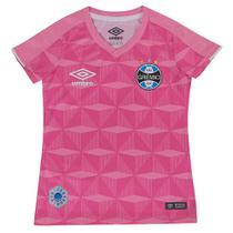 Camisa Umbro Grêmio Comemorativa Outubro Rosa Infantil -