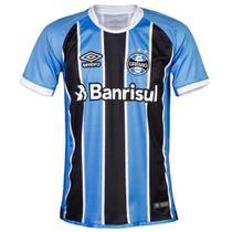 Camisa Umbro Grêmio Oficial 1 2017 Masculina - Ref 715756 -