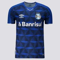 Camisa Umbro Grêmio Oficial 3 2019 S/N Marinho/Branco -
