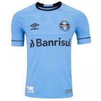 Camisa Umbro Grêmio Oficial Charrua 2018 (Fan) Masculina - Azul -