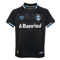 Camisa Umbro Grêmio Oficial III 2018 Juvenil -