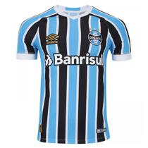 Camisa Umbro Masculina Grêmio Oficial 1 2018 (FAN PAT S/N) -