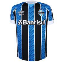 Camisa Umbro Masculina Grêmio Oficial I 2020 Torcedor Nº11 -