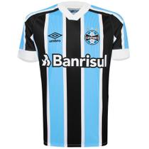 Camisa Umbro Masculina Grêmio Oficial I 2021 Classic S/Nº -