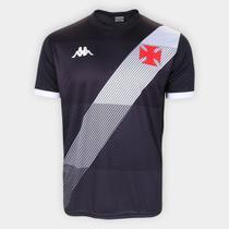 Camisa Vasco da Gama Supporter Diagonal Kappa Masculina -