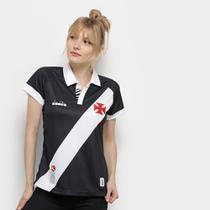 Camisa Vasco I 19/20 s/nº Torcedor Diadora Feminina -