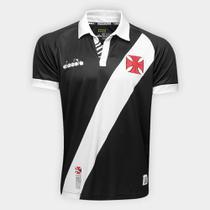 Camisa Vasco I 19/20 s/nº Torcedor Diadora Masculina -