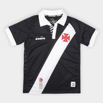Camisa Vasco I Juvenil 19/20 s/nº Torcedor Diadora -