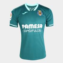 Camisa Villarreal Away 19/20 s/nº Torcedor Joma Masculina -