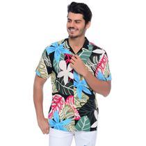 Camisa Viscose Estampada - Emporio Alex