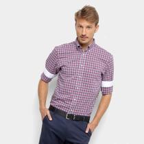 Camisa Xadrez Manga Longa Tommy Hilfiger Masculina -