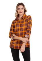 Camisa Xadrez Viscose - Kinara