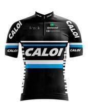 Camisa Zíper Manga Curta Mtb Bike Ciclismo Dry Fit Esporte Fitness Bicicleta Exercicios Caloi - Decole