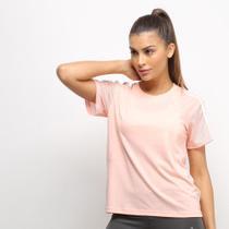 Camiseta Adidas 3S Mesh Sleeve Feminina -