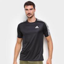Camiseta Adidas Designed to Move Sport 3 Listras Masculina -