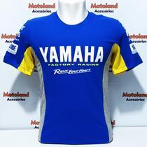 Camiseta All Boy Valentino Rossi Vr 46 Yamaha Moto Gp Azul 261 -