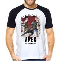 Camiseta APEX Gamer Raglan Manga Curta - Eanime