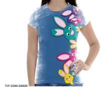 Camiseta Baby Coelhinho Coelho Fofo Bichinhos Pascoa P - Dias no Estilo