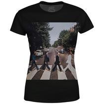 Camiseta Baby Look The Beatles Estampa digital md02 - Over Fame