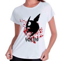 Camiseta Babylook Akame Ga Kill Leone Night Raid - Eanime