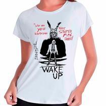 Camiseta Babylook Filme Donnie Darko Wake Up - Eanime