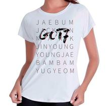 Camiseta Babylook Got7 Integrantes Kpop - Eanime