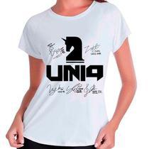 Camiseta Babylook Kpop K-pop Uniq Autografos Integrantes - Eanime