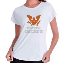 Camiseta Babylook State Of Decay 2 Gamer Zumbi - Eanime