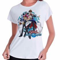 Camiseta Babylook Yu-gi-oh! Duel Links Game - Eanime