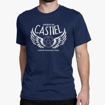 Camiseta Básica Masculina - Castiel Supernatural - Rainer cintra