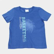 Camiseta Bebê Malwee Estampada Manga Curta Masculina -