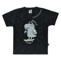 Camiseta Bebê Pulla Bulla Dino Masculina -
