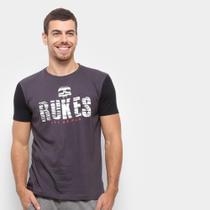 Camiseta Bicolor Rukes Rajado Masculina -