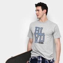 Camiseta Boulevard Skate Co. Weave Stack Masculina -