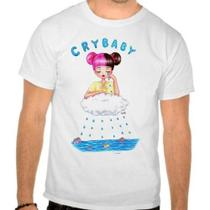Camiseta Branca Melanie Martinez Cry Baby - Eanime