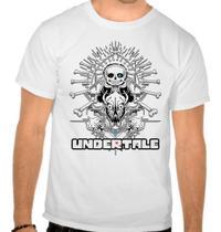 Camiseta Branca Undertale V4 Jogo Game Rpg - Eanime