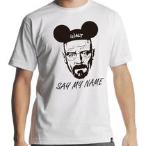 Camiseta Breaking Bad Walt Disney Masculina - Hipsters