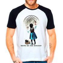 Camiseta Bring Me The Horizon - Bmth - Raglan Manga Curta - Eanime