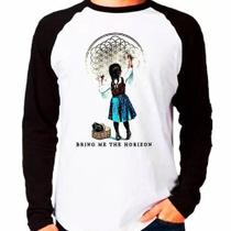 Camiseta Bring Me The Horizon - Bmth - Raglan Manga Longa - Eanime