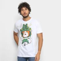Camiseta BRKsEdu Gato Gamer Masculina -