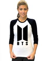 Camiseta BTS Bangtan Boys BT21 KPOP Babylook 3/4 - Eanime