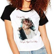 Camiseta Bts Jung Hoseok Bangtan Boys J-hope Raglan Babylook - Eanime