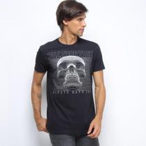 Camiseta Bulldog Fish Manga Curta Masculina -