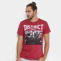 Camiseta Burn Brooklyn District Masculina -