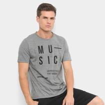 Camiseta Burn Music Sounds Better Masculina