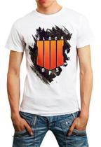 Camiseta Call Of Duty Black Ops 4 Camisa Personalizada - Vetor camisaria