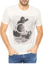 Camiseta Calvin Klein estampada masculina -